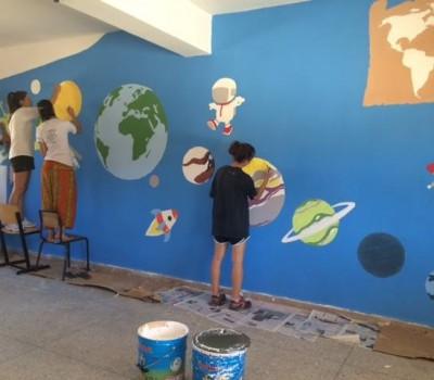 Pintura y decoraci n de escuelas asociaci n felicidad for Escuela de decoracion